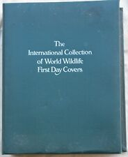 The International Collection of World Wildlife Fdc, 1976 to 1979