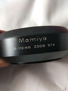 Mamiya 55-110mm zoom 67 shade hood