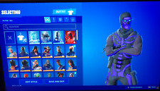 FORTINITE RARE STACKED ACCOUNT (John Wick + OG skull troper + 122 skins)