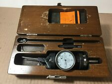 Blake Mfg Co Co Ax Dial 0005 Indicator Set With Wood Case