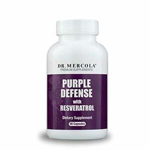Dr. Mercola Purple Defense - 90 count - Antioxidant Supplement with Grape Seed O
