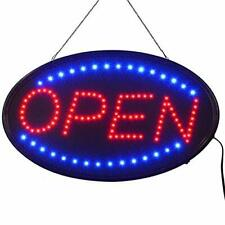 Led Open Sign,23x14inch (Bigger Size) Led Business Open Sign Include Business