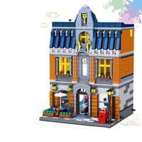 The Brickstive City Moc Sets The Hill Tavern Model Building Blocks Toys For Kids