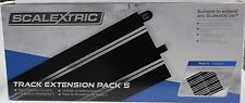Scalextric C8554 CASE OF 48 TOTAL PIECES 350mm STRAIGHT SPORT TRACK 8 PACK