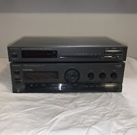 Vintage Technics SU-G91 Integrated Amplifier Class A With ST-K50 Tuner Untested