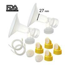 Maymom BreastPump Kit for Medela Pump in Style Pump (27-mm Breastshields)
