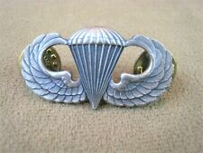 Vintage NS Meyer New York US Military Airborne Paratrooper Jump Wings Pin Medal