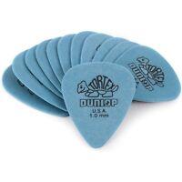 Dunlop 418P1.0 Tortex Standard 1.0mm Flexible Durable Blue Guitar Picks 12-Pack