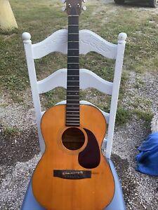 Fender Model F-15  Acoustic Guitar For Parts Or Repair