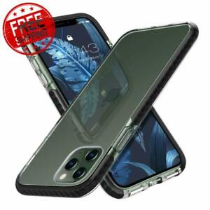 Case For iPhone 11 Pro Max Hybrid Hard PC Back And Soft Shockproof Bumper Cover