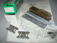 A5175 HO BOWSER 150039 METAL UNDECORATED 34' STEAM LOCOMOTIVE TENDER kit