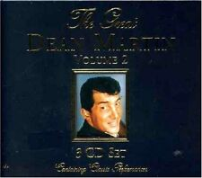 The Great Dean Martin Volume 2 3-CD Box Set NEW That's AmoreWho's Sorry Now?+
