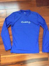 Women's O'Neil Rashguard Swim Shirt Blue Sz Small