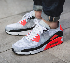 """Nike Air Max 90 Flyknit Ultra 2.0 """"INFRARED"""" Size UK6 US7 EUR40 Rare lot"""