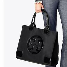 Tory Burch Ella Tote Nylon Large Bag Women Handbag - Black, Pink, Purple, Blue