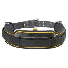Dewalt Heavy Duty Leather Tool Belt DWST80908 Cushioned Support for Suspenders