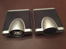 SPEAKERS ONLY.   KEF KIT120 Satellite Speaker Instant Theatre SP3421 Uni-Q