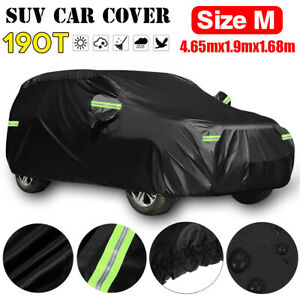 SUV Full Car Cover Waterproof UV Snow Dust Rain Resistant Protection 15ft