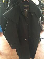 Just Arrived !!! New Season Full Length Mens Womens Oilskin Riding Jackets
