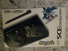 Nintendo DS lite Special Edition Pokemon  Black Console  FREE SHIPPING