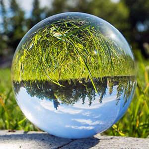 60-100mm +Stand Asian Rare Natural Quartz Magic Crystal Healing Ball Sphere
