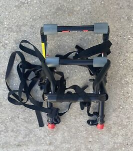 Allen Sports Deluxe 2 Two Bike Bicycle Car Trunk Mounted Rack Carrier Model102DN