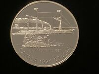 T2: 1991 Canada Silver Dollar Proof: Ship: S.S. Frontenac