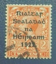 Irish Rare :1922 Great Britain Stamps Overprinted in Black -  Collectible Stamp.
