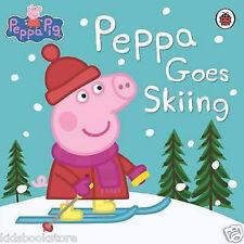 Peppa Pig Story Book - PEPPA GOES SKIING - NEW