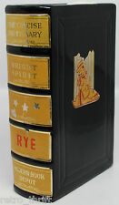 Concise Dictionary Book Bright Spirit Rye Decanter Bottle Made in Japan 7""