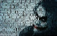 Batman The Joker Quotes Canvas Wall Art Film Movie Poster Print Heath Ledger