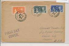 LN10059 Malaya 1937 silver jubilee FDC used