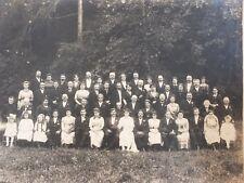 Ancienne photo de mariage - années 20/30 région Bayeux - Normandie N°1