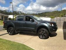 Dominator 4x4 Rock Sliders Mazda BT50 / Ranger PX MK2 Wildtrak Powder Coated