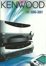 Kenwood Katalog Prospekt 2000/'01 KRF-V9993D DVF-R9030 KA-7090R DPF-J9030 D-S300