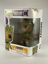 funko pop vinyl Mossy Groot No. 49 Marvel Exclusive Variant New In Box