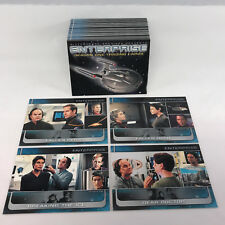 STAR TREK: ENTERPRISE SEASON 1 (Rittenhouse/2002) Complete Card Set SCOTT BAKULA