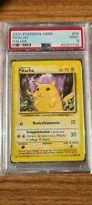 2000 Pokemon ITA Base Set Pikachu #58 PSA 9