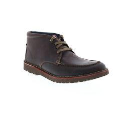 Clarks Варго рост 26138397 мужские коричневые кожаные на шнуровке ботинки chukkas