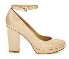 """GUESS Damen Schuhe Pumps """"Beal"""" Lackoptik beige Gr 35 36 39 40 41 NEU"""
