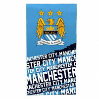 Manchester City FC Beach Bath Towel (Impact)