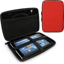"""Red EVA Travel Hard Case Cover for Amazon Fire HD 10.1"""""""