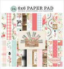 "New Carta Bella 6""x6"" Paper Pad Farmhouse Market"