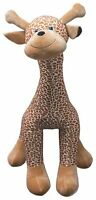 Inflatable Plush 5ft Giraffe Cuddly Toy Teddy Bear Soft Toy Inflate-A-Mals