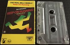 Keep On Running ~ THE REAL MILLI VANILLI Cassette Tape Single CARD SLEEVE