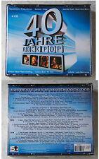 40 JAHRE ROCK POP Donovan, Christie, Tina Charles, Van Morrison,... 4-CD-Box TOP