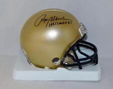 Roger Staubach Signed Navy Midshipmen Riddell Mini Helmet W/ Heisman- JSA W Auth