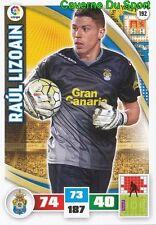 192 RAUL LIZOAIN ESPANA UD LAS PALMAS CARD ADRENALYN LIGA 2016 PANINI