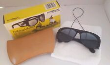 Vintage Bushnell Polarized Fishing Sunglasses, Excellent Condition with Box