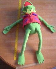 "Kermit the Frog 24"" Plush Macy's Bon Marches winter jacket & hat Henson Muppets"